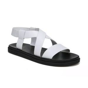 Via Spiga 7.5 Kalia strappy flat leather sandals